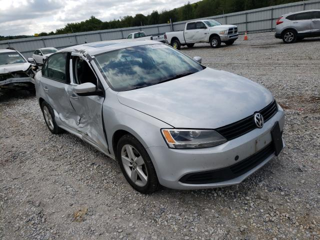 Salvage cars for sale at Prairie Grove, AR auction: 2012 Volkswagen Jetta TDI