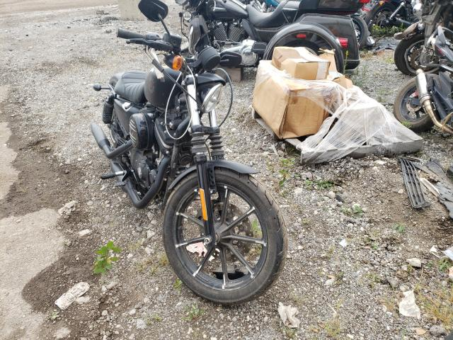 Salvage cars for sale from Copart Chicago Heights, IL: 2020 Harley-Davidson XL883 N