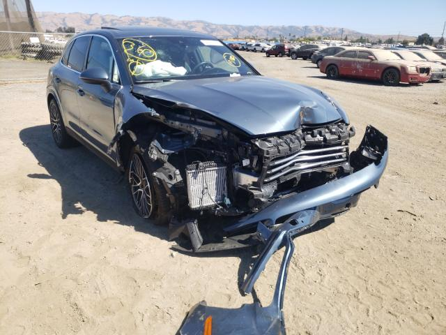 Salvage cars for sale from Copart San Martin, CA: 2019 Porsche Cayenne