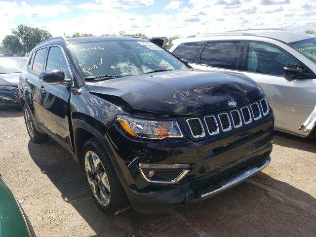 Salvage cars for sale from Copart Des Moines, IA: 2020 Jeep Compass LI