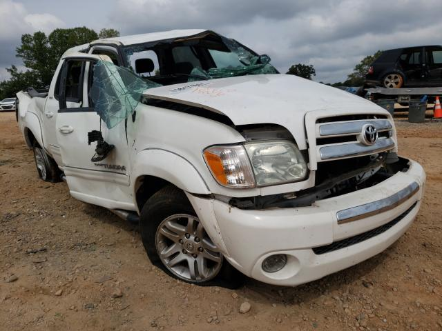Salvage cars for sale from Copart China Grove, NC: 2006 Toyota Tundra DOU