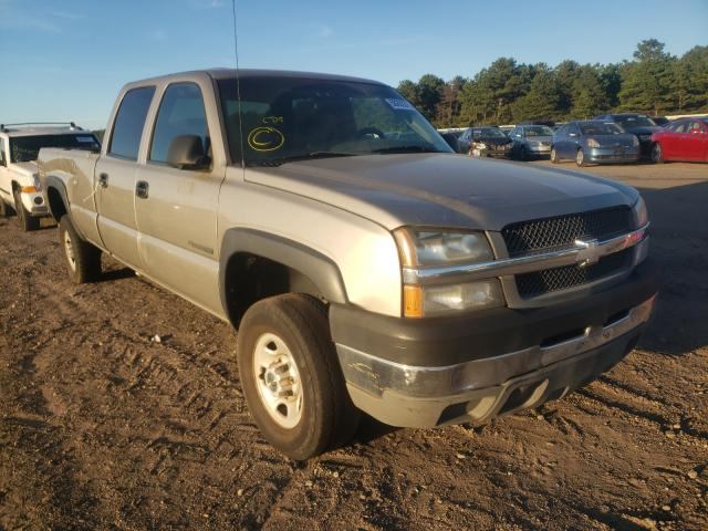 Salvage cars for sale from Copart Brookhaven, NY: 2003 Chevrolet Silverado