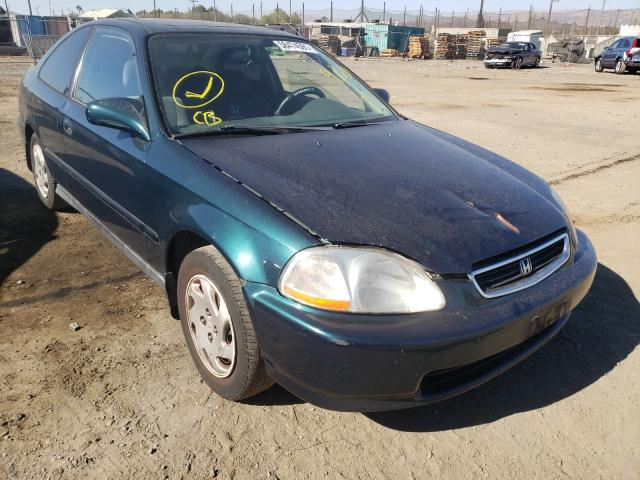Salvage cars for sale from Copart San Martin, CA: 1997 Honda Civic EX