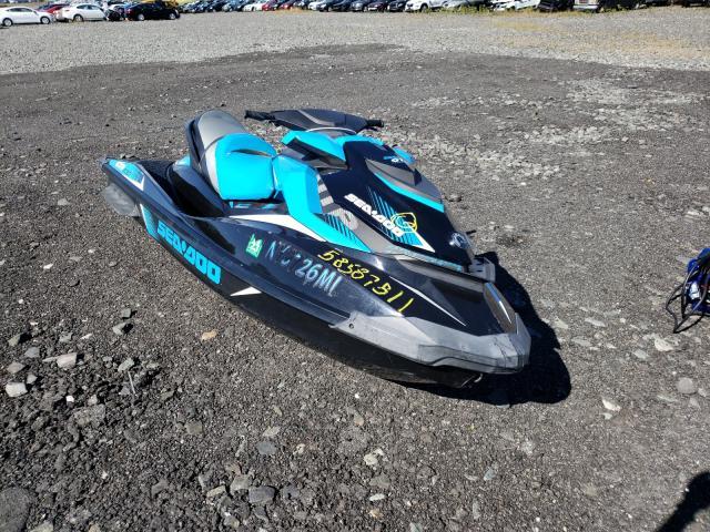 Salvage boats for sale at Marlboro, NY auction: 2017 Seadoo GTR230