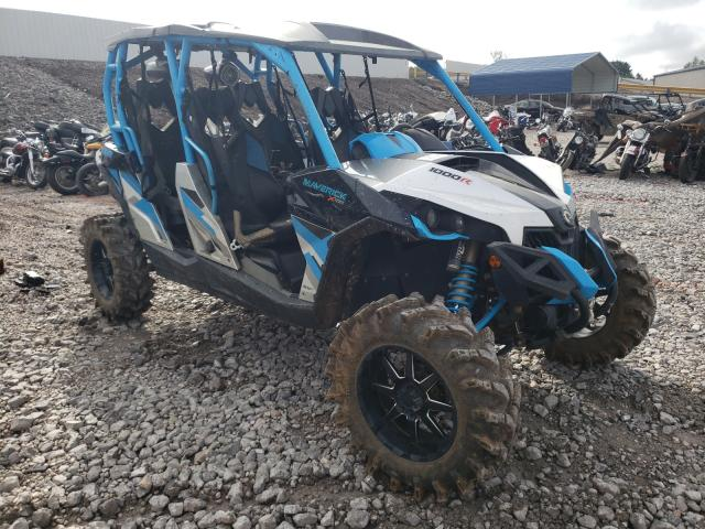 Salvage motorcycles for sale at Hueytown, AL auction: 2017 Can-Am Maverick M