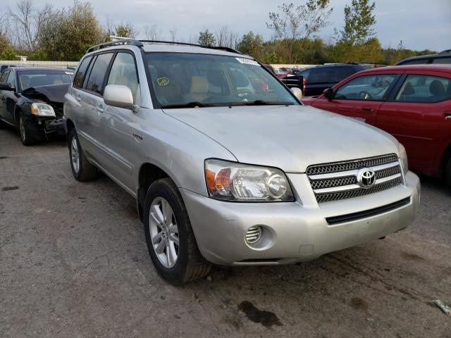 Salvage cars for sale from Copart Angola, NY: 2006 Toyota Highlander