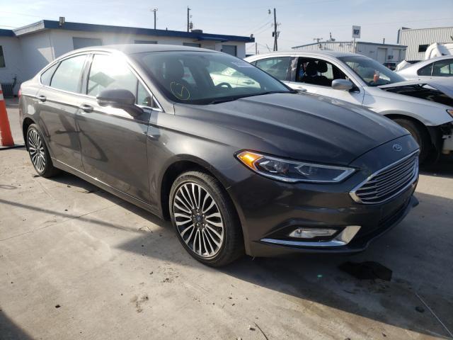 2018 Ford Fusion Titanium en venta en Grand Prairie, TX