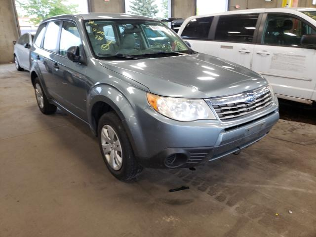 Salvage cars for sale from Copart Blaine, MN: 2009 Subaru Forester 2