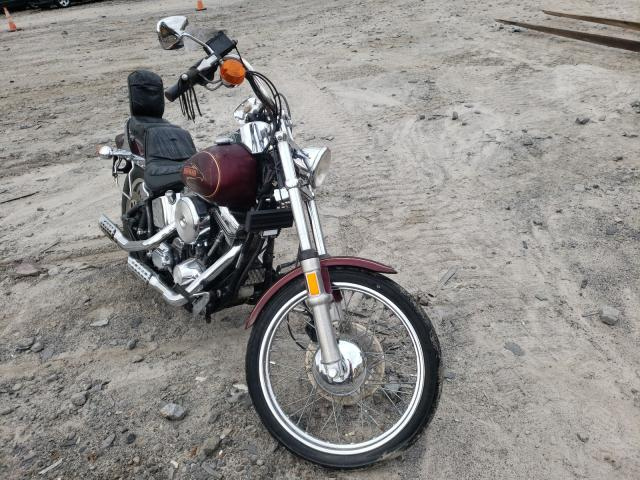 Salvage cars for sale from Copart Duryea, PA: 1990 Harley-Davidson Fxst Custo