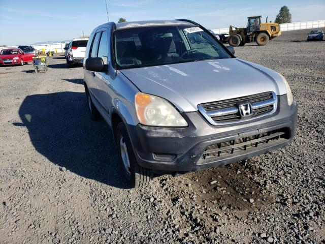 Salvage cars for sale from Copart Airway Heights, WA: 2002 Honda CR-V LX