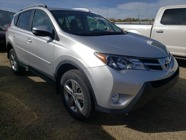 Salvage cars for sale from Copart Nisku, AB: 2015 Toyota Rav4 XLE