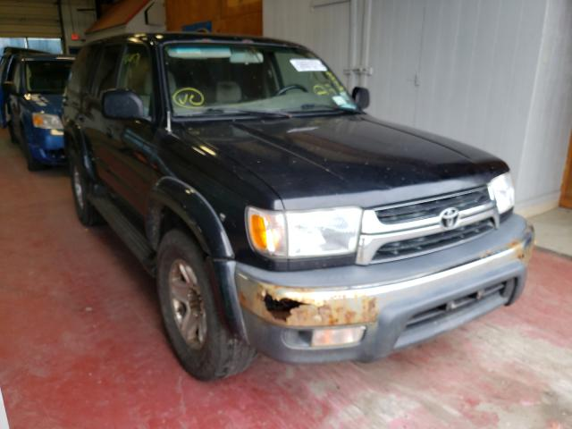 Salvage cars for sale from Copart Angola, NY: 2002 Toyota 4runner SR