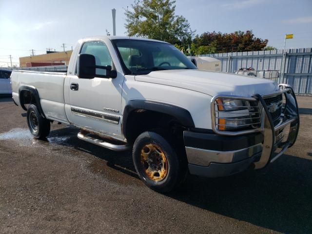 Salvage cars for sale from Copart Bowmanville, ON: 2005 Chevrolet Silverado