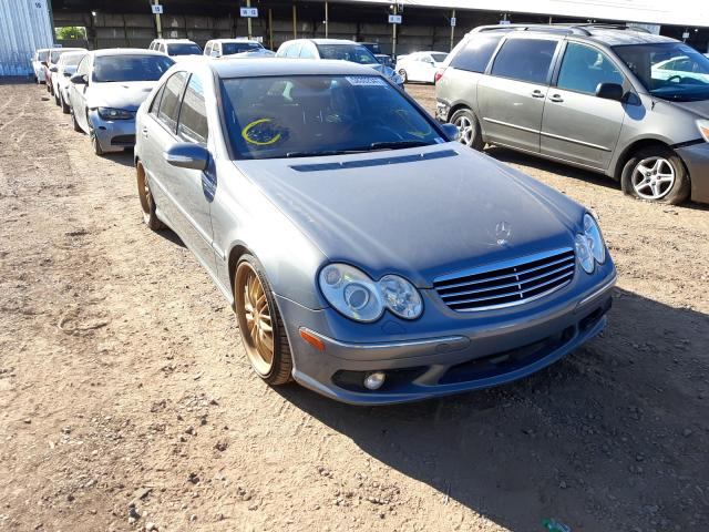 Salvage cars for sale from Copart Phoenix, AZ: 2006 Mercedes-Benz C 55 AMG