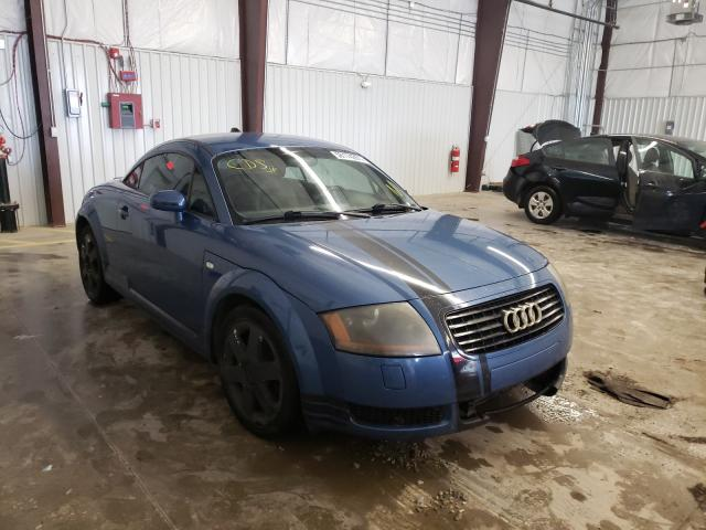 Salvage cars for sale from Copart Gastonia, NC: 2001 Audi TT