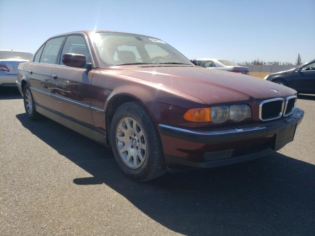 Salvage cars for sale from Copart Sacramento, CA: 2000 BMW 740 IL