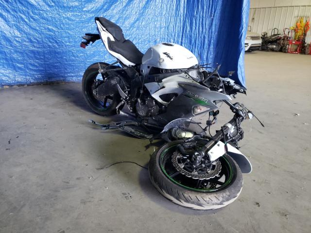 Salvage motorcycles for sale at Finksburg, MD auction: 2021 Kawasaki ZX636 K