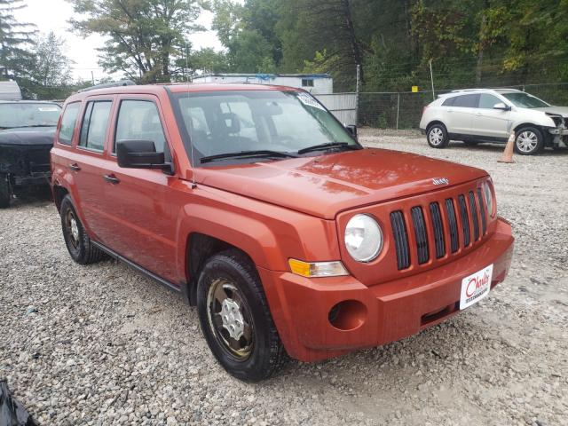 Salvage cars for sale from Copart Northfield, OH: 2009 Jeep Patriot SP