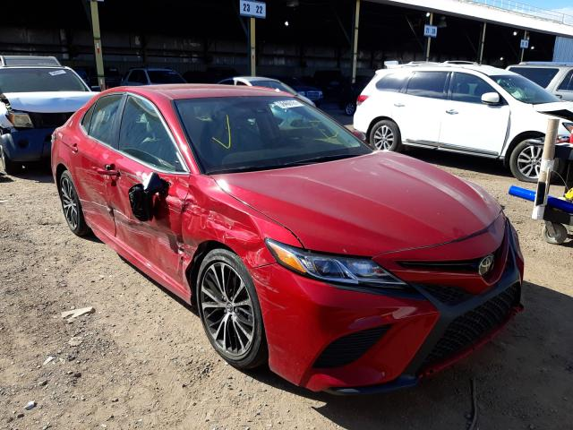 Salvage cars for sale from Copart Phoenix, AZ: 2020 Toyota Camry SE