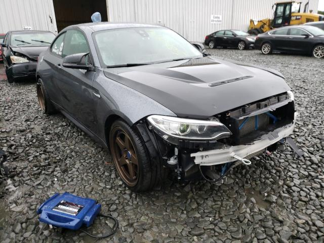 BMW M2 salvage cars for sale: 2017 BMW M2