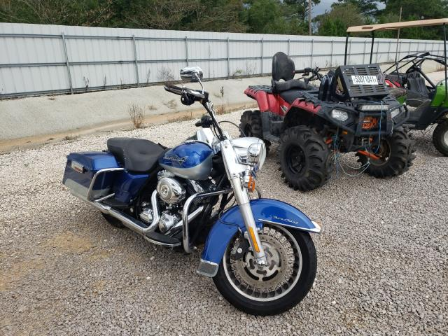 Salvage cars for sale from Copart Theodore, AL: 2010 Harley-Davidson Flhr