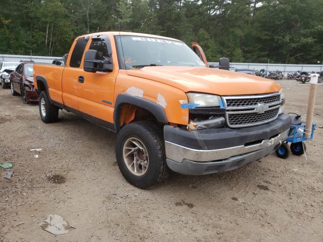 Salvage cars for sale from Copart Lyman, ME: 2005 Chevrolet Silverado