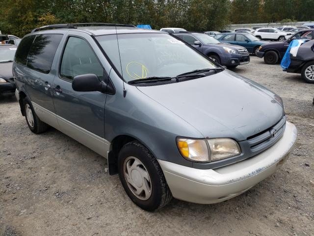Vehiculos salvage en venta de Copart Arlington, WA: 2000 Toyota Sienna LE