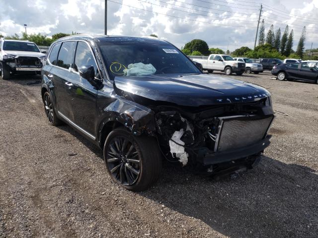 KIA Telluride salvage cars for sale: 2021 KIA Telluride