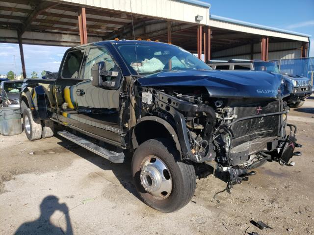 Salvage cars for sale at Riverview, FL auction: 2018 Ford F350 Super