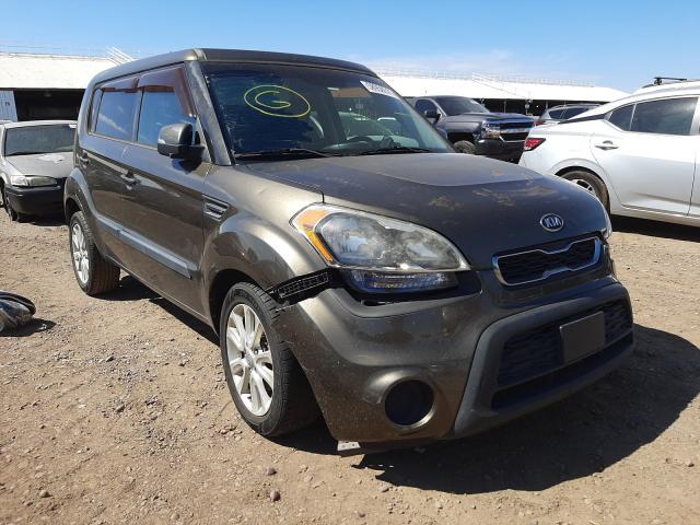 Salvage cars for sale from Copart Phoenix, AZ: 2012 KIA Soul +