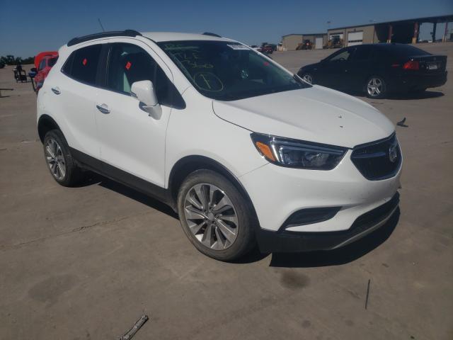 Vehiculos salvage en venta de Copart Wilmer, TX: 2018 Buick Encore PRE