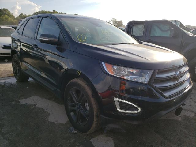Ford salvage cars for sale: 2018 Ford Edge SEL