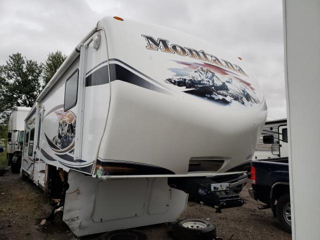 Keystone Montana salvage cars for sale: 2012 Keystone Montana