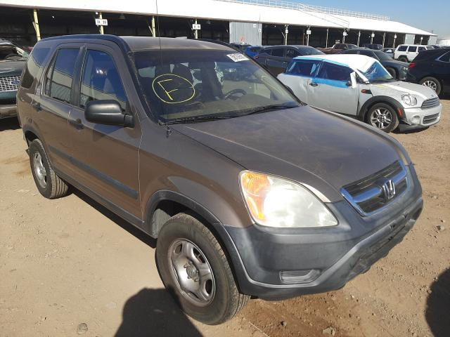 Salvage cars for sale from Copart Phoenix, AZ: 2004 Honda CR-V LX
