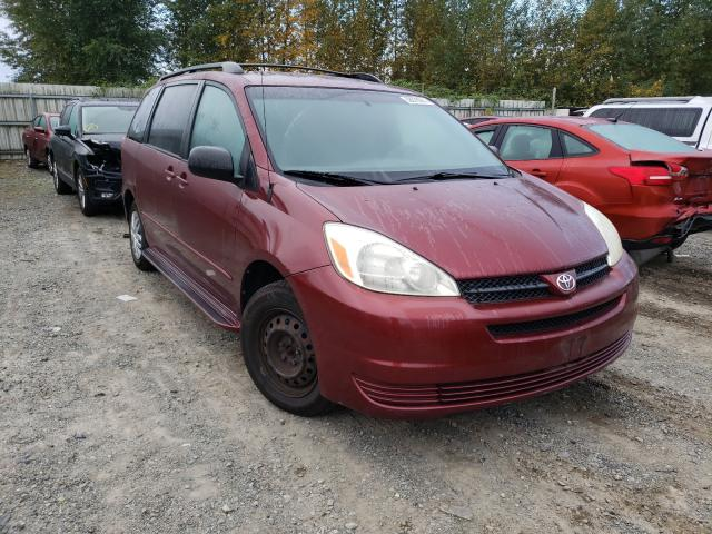 Vehiculos salvage en venta de Copart Arlington, WA: 2005 Toyota Sienna CE