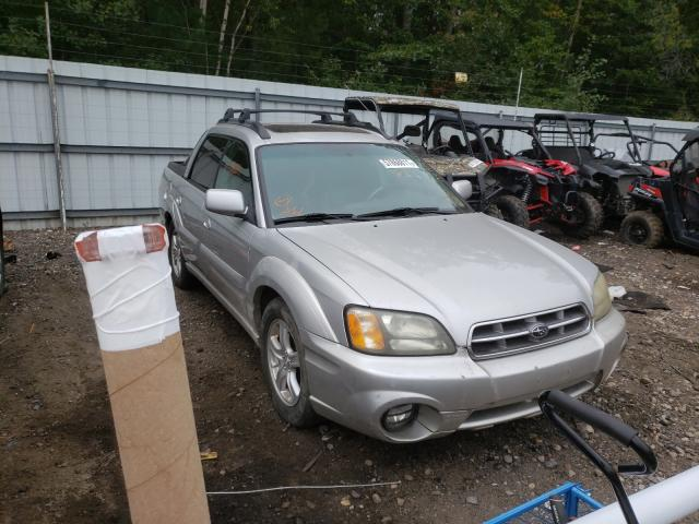 Salvage cars for sale from Copart Lyman, ME: 2003 Subaru Baja