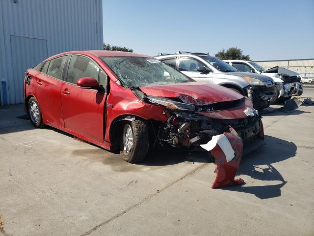 Salvage cars for sale from Copart Sacramento, CA: 2021 Toyota Prius Prim