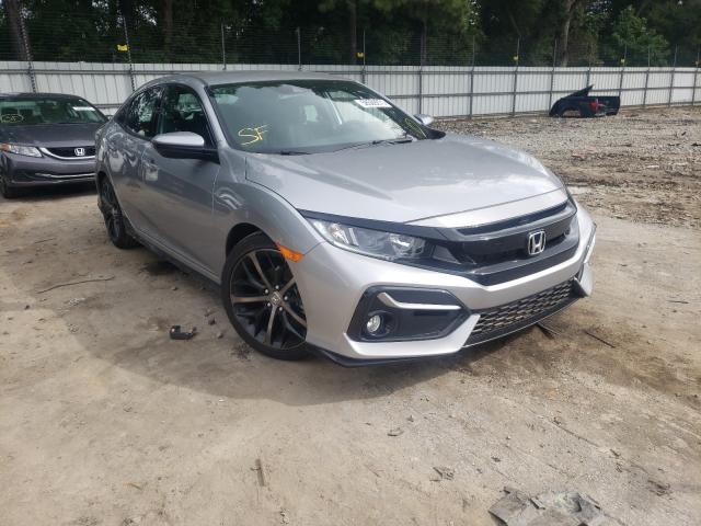 Vehiculos salvage en venta de Copart Austell, GA: 2021 Honda Civic Sport