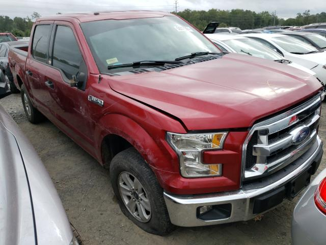 Salvage trucks for sale at Waldorf, MD auction: 2015 Ford F150 Super