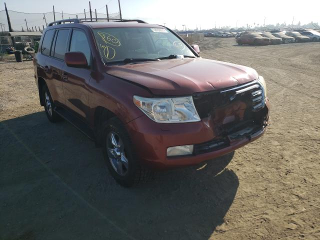 Salvage cars for sale from Copart San Martin, CA: 2008 Toyota Land Cruiser