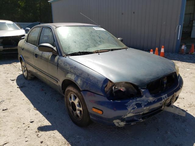 Salvage cars for sale from Copart Midway, FL: 1999 Suzuki Esteem GL