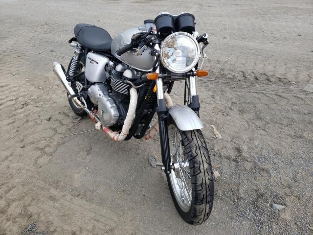 Salvage cars for sale from Copart Waldorf, MD: 2008 Triumph Thruxton 9