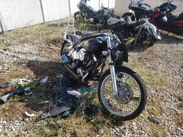 Salvage cars for sale from Copart Cicero, IN: 1997 Harley-Davidson Fxst Custo