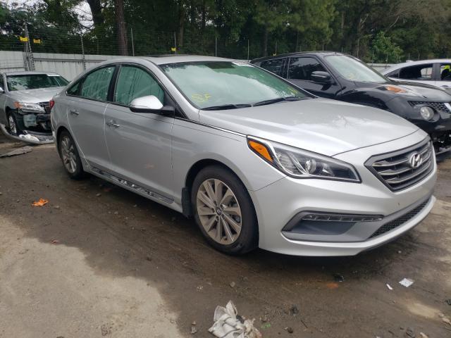 Vehiculos salvage en venta de Copart Austell, GA: 2017 Hyundai Sonata Sport