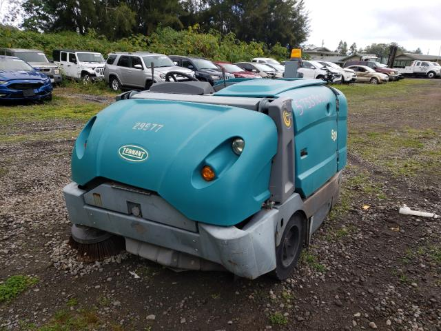 Salvage cars for sale from Copart Kapolei, HI: 2013 Tennant Sweeper