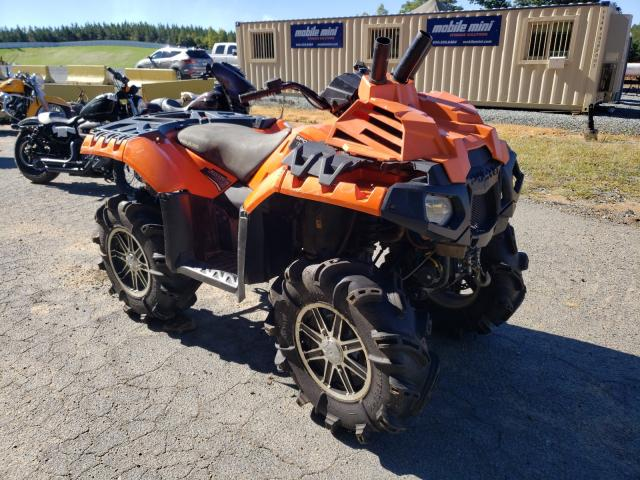 Salvage cars for sale from Copart Concord, NC: 2016 Polaris Sportsman