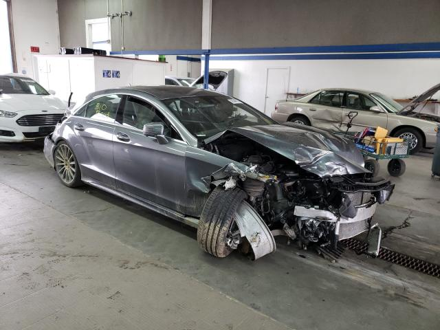 Salvage cars for sale from Copart Pasco, WA: 2017 Mercedes-Benz CLS 550 4M