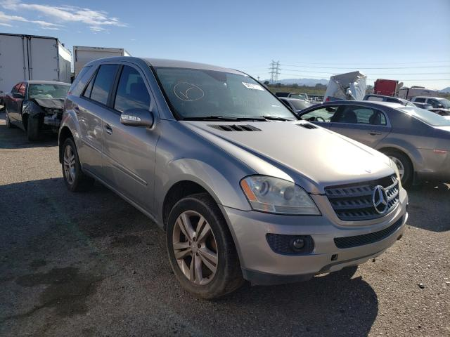 Salvage cars for sale at Tucson, AZ auction: 2006 Mercedes-Benz ML 350