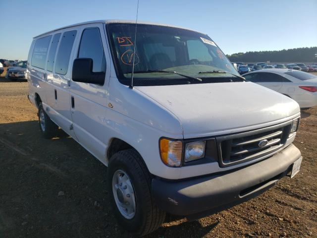 Salvage trucks for sale at Longview, TX auction: 2003 Ford Econoline