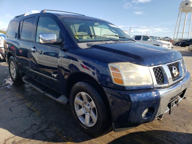 Nissan Vehiculos salvage en venta: 2006 Nissan Armada SE